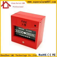 Emergency Break Glass Fire Alarm Exit Butotn for Access Control System L&L-911