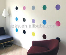 Vinyl polka dots wall sticker