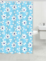New design Patterned shower curtain rings