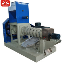Automatic Organic pellet machine floating fish feed extruder machine pet food extruder