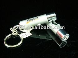 Mini torch keychain,Hot sale led torch logo light