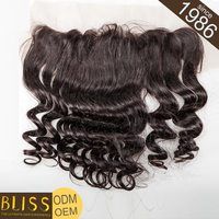 Can Be Dyed Real Virgin Full Frontal Lace Virgin Closures Color 613