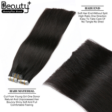 Wholesale Price Tape In Hair Extension Remy Russian Hair 40pcs 16--28inch Full Cuticle Double Tape Hair Extension
