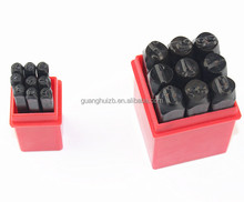 Metal Number Letter Stamp Punch Set punch stamping set jewelry mold