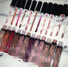 15 COLORS private label cosmetics makeup cosmetics make your own brand lip gloss kyli lip gloss