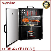 Stainless steel meat and sausage smoker oven Professional bbq grill & smoker Electric appliances 800W