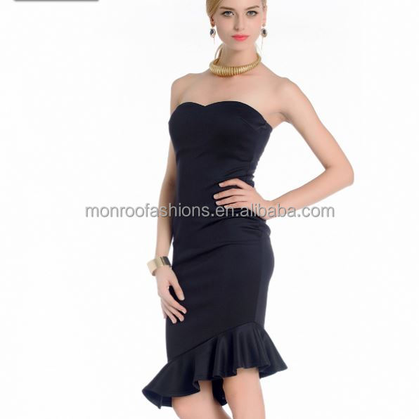 monroo Ladies fancy tall tube women sexy dress women evening dress alibaba china