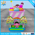 New design ice cream inflatable bounce house ,inflatable jumping castle, bouncy castle for sale