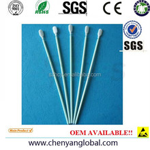 100ppi. Cleanroom Polyester Cleaning Swab - Alternative to Berkshire LTP1465 long handled polyester knit swab Swabs