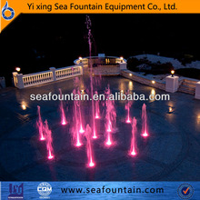 China factory supply hotel fountain 2 meter height floor standing fountain