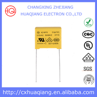 capacitor 0.1uf x2 275v MPX for electronmagnetic disturbance from changxing