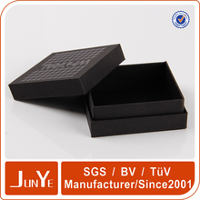 black matte finished cd dvd storage gift cardboard box