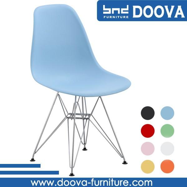 Geformten draht bein esszimmer st hle aus kunststoff for Design stuhl draht