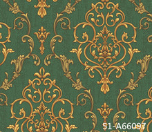 1.06m Italy Damascus design deep embossing china wallpaper