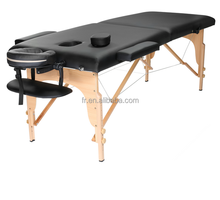 2 section wooden ayurveda massage table