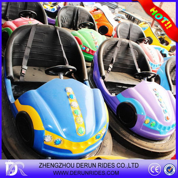 Top quality hot selling used carnival games rides bumper car