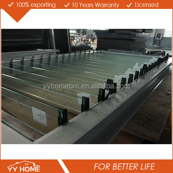 YYHome 5mm Toughened Glass Louver Windows