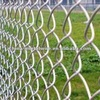 Metal construction chain link fence
