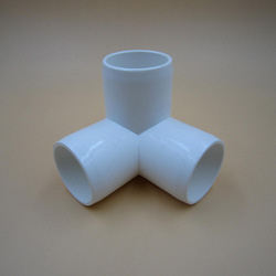 "ASTM D1785 SCH40 1"" UPVC 3 Way Elbow Pipe Fittings"
