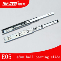 Popular 2016 Soft Closing Ball Bearing Drawer Slides In Suspended Mounting Style