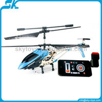 !!!Best quality Infrared 3ch RC helicopter with Gyro iphone controlled helicopter rc helicopter with camera