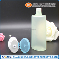 100ml oval shape HDPE plastic bottle for cosmetic use With thick plastic bottles
