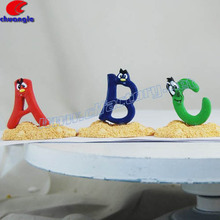 Custom Alphabet Figurine, Customized Alphabet Handicraft, Resin Alphabet Sculptures