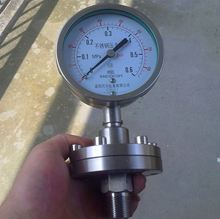 China supplier stainless steel Diaphragm Seal Pressure Gauge manometer