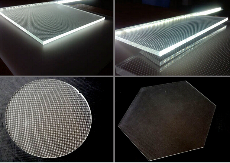 Laser Engraving Acrylic Light Guide Panel