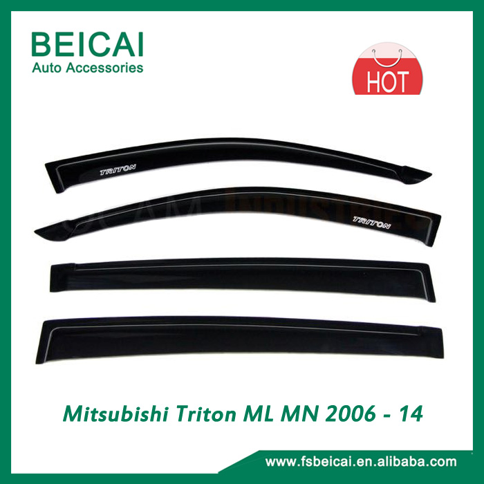 Mitsubishi Triton ML MN 2006 - 14 Weather Shield Window Visors