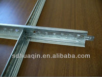 galvanized T-bar for ceiling tile factory