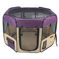 Dog playpen soft sided pet playpen pet cage pop up playpen