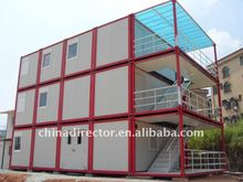 multilayer mobile container hotel