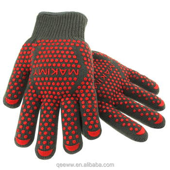 Microwave BBQ Glove with Non-Slip Silicone Grip