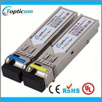 fast ethernet 10g sfp ddm 60km bidi wifi transmitter and receiver