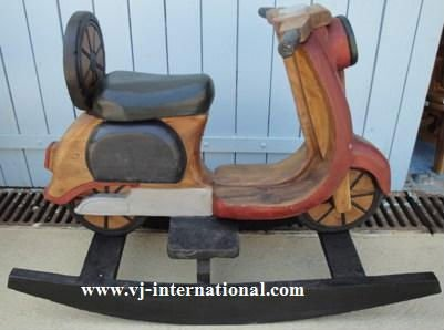 Wooden Vespa Rocking