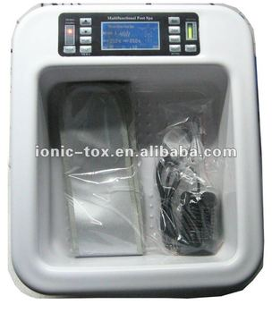 2018 new detoxification ion cleanse machine for detoxification