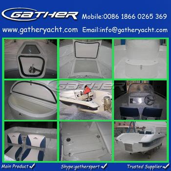 Factory supply agent wanted hot sale 6 persons 19ft/5.8m small speed boats