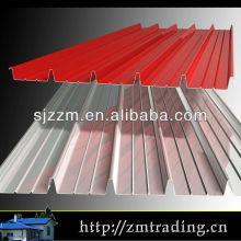decorative metal roofs color coated iron sheet steel roofing