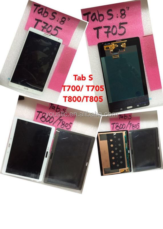 Replacement Tablet LCD Touch Screen Digitizer For Samsung Galaxy Tab S 8.4 T700 T705
