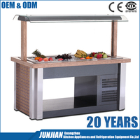 Refrigerator equipment M-H-BXG-03-2 salad cabinet / Salad bar / salad display refrigerator