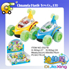 Promotion gift-plastic friction stunt cars ,vehicle toys for kids