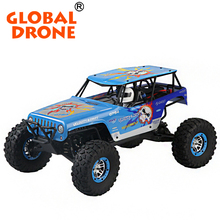 Global Drone WlToys 10428-A RC Electric Truck 1:10 with High Speed Vehicle Four Wheels Drive Vehicle Racing RC Car Vehicle Toys