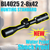BL4025 2-8x42 riflescopes oem hunting equipment tactical manufacturers ar15 accessories weapon optic rifle scope for rifles