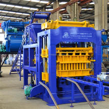House plan business cement interlocking hollow fly ash sand brick making machine mixer concrete automatic block making machine