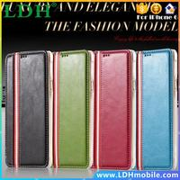Luxury Leather Case For iphone 6 Plus 5.5inch Wallet Mobile Phone Cases Stripe Support Electronic Accessories & Parts Shell