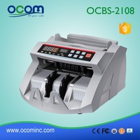 OCBC-2108 Intelligent banknote counter, bill counter machine