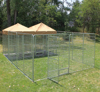 Australian standard Large outdoor galvanised chain link pet enclosure/dog kennels & dog cage