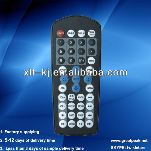 041a professional remotes factory supplying infrared TV remote control with 38keys