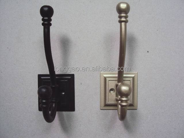 New Wall Mounted Antique Metal Coat Clothes Hooks